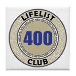Lifelist Club - 400 Tile Coaster