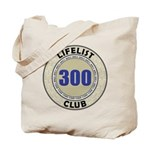 Lifelist Club - 300 Tote Bag