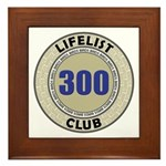 Lifelist Club - 300 Framed Tile