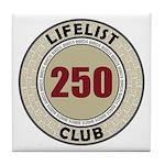 Lifelist Club - 250 Tile Coaster