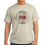 Lifelist Club - 250 Light T-Shirt