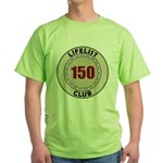 Lifelist Club - 150 Green T-Shirt