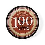 Lifelist Club - 100 Wall Clock