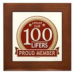 Lifelist Club - 100 Framed Tile