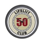 Lifelist Club - 50 Wall Clock - Time to go birding