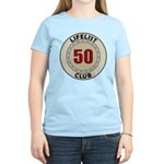 Lifelist Club - 50 Women's Light T-Shirt