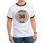 Lifelist Club - 50 Ringer T-Shirt