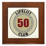 Lifelist Club - 50 Framed Tile