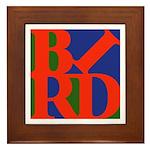 Pop Art Bird Framed Tile
