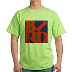 Pop Art Bird Green T-Shirt