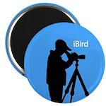 iBird (blue) Magnet