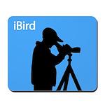 iBird (blue) Mousepad