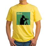 iBird (blue) Yellow T-Shirt