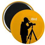 iBird (orange) Magnet