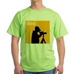 iBird (orange) Green T-Shirt