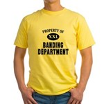 Property of Banding Department Yellow T-Shirt