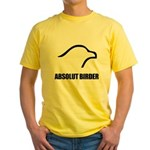 Absolut Birder Yellow T-Shirt