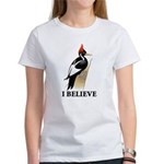 Ivory-billed: I Believe Women's T-Shirt