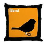iBand (orange) Throw Pillow