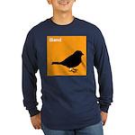 iBand (orange) Long Sleeve Dark T-Shirt
