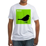 iBand (green) Fitted T-Shirt