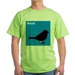 iBand (blue) Green T-Shirt