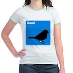 iBand (blue) Jr. Ringer T-Shirt