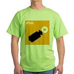iPish (orange) Green T-Shirt