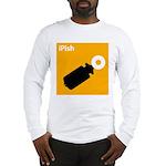 iPish (orange) Long Sleeve T-Shirt