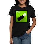 iPish (green) Women's Dark T-Shirt