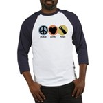 Peace Love Pish Baseball Jersey