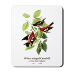 White-winged Crossbill Mousepad