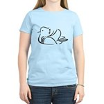 Stylized Mandarin Duck Women's Light T-Shirt