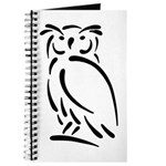 Stylized Owl Journal