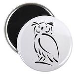 Stylized Owl Magnet