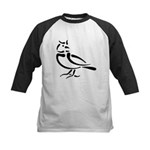 Stylized Lark Kids Baseball Jersey