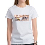Beach Fire Island Pines Women's T-Shirt