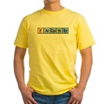 Elements of Falconry Yellow T-Shirt