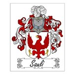 Sauli Family Crest Small Poster