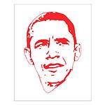 Obama Line Portrait Small Poster