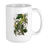 Audubon's Carolina Parakeet Large Mug