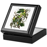 Audubon's Carolina Parakeet Keepsake Box