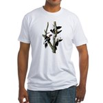 Ivory-billed Woodpecker Fitted T-Shirt