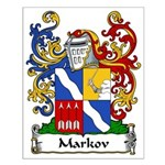 Markov Family Crest Small Poster