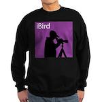 iBird (purple) Sweatshirt (dark)