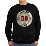 Lifelist Club - 50 Sweatshirt (dark)