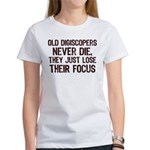 Old Digiscopers Never Die Women's T-Shirt