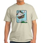Squirrels, Get Off My Lawn! Light T-Shirt
