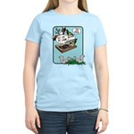 Squirrels, Get Off My Lawn! Women's Light T-Shirt