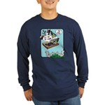 Get Off My Lawn! Long Sleeve Dark T-Shirt